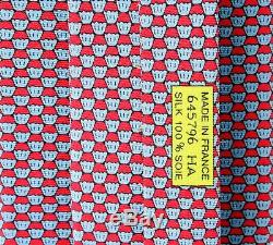 Hermes Tie Muffins New in Box with Tag 645796 Authentic