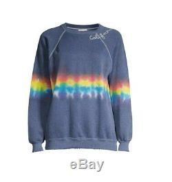 I Stole My Boyfriends Shirt-Tie-dye Cali Cropped Sweatshirt(Original Price$185)
