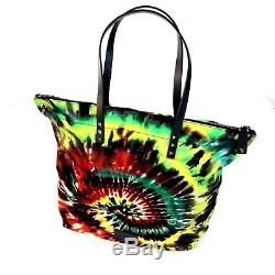 J-2909180 New Valentino Garavani Tie-Dye Bag Rockstud Tote Purse Handbag