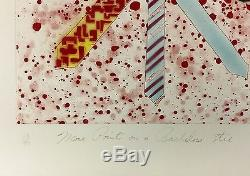 James Rosenquist More Points On A Bachelor's Tie 1977 Large Signed Print