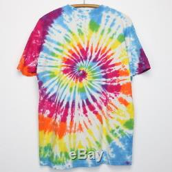 Jimi Hendrix Shirt Vintage tshirt 1980s Experience Rainbow Acid Tie Dye LSD Rock