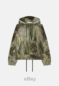 John Elliott Tie Dyed Shell Jacket Olive x Mojave Sz 4 XL