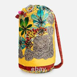 Johnny Was Throw Blanket Mayla Cozy Warm Reversible Weighted Hobo Bag Size M New