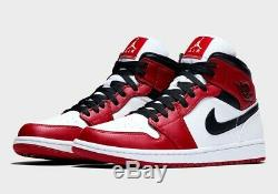 Jordan 1 Mid Chicago (2020) Size 10 Mens Brand New 100% Authentic