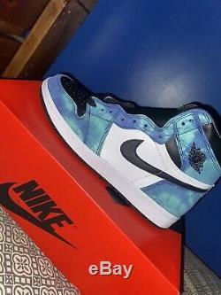 Jordan 1 Retro High Tie Dye Size 11.5 (W) Size 10 (M)