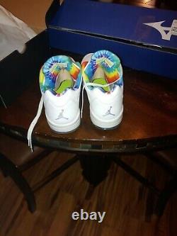 Jordan Tie dye V Golf Shoes size 12