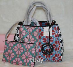 Kate Spade Everything Spade Flower Medium Tote Bag & Pouch Purse Handbag NWT