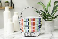 Kate Spade Pippa Woven Small Multicolor Bucket Bag Crossbody Handbag Purse