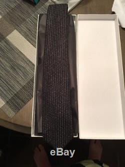 Kingsman + Drake's Statesman 8CM Nailhead Wool Tie