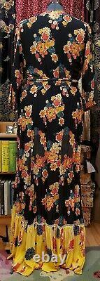 Ladies Farm Rio Loretta Wrap Dress Size Large Anthropologie Lovingly USED