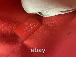 Louis Vuitton Neverfull mm escale red pink tie dye Rouge