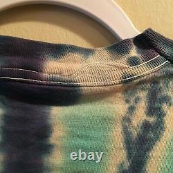 M Vintage Rare Jimi Hendrix Tie dye shirt XL Foxy Lady single stitch Fruit Loom