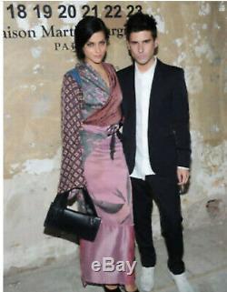 Maison Martin Margiela H&M Silk Scarves Floral Kimono Apron Sarong Wrap Skirt