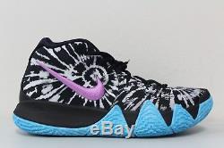 7fdc89bb248d Men s Nike Kyrie 4 All Star Asg Tie Dye Black White Aq8623-001 Size 11.5
