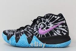 Men's Nike Kyrie 4 All Star ASG Tie Dye Black White AQ8623-001 Size 11.5
