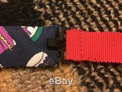 Mens Rare Vintage Vtg Designer 70s 80s Turnbull & Asser Multicolor Silk Bow Tie