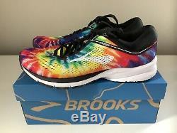 NEW Brooks Launch 5 Run Rock N Roll Marathon Tie Dye Women's Shoes Sz 9.5