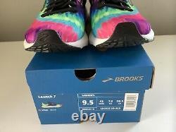 NEW Brooks Launch 7 Run Rock N Roll Marathon Tie Dye Women's Shoes Sz 9.5