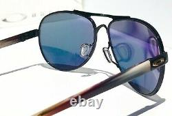 NEW Oakley TIE BREAKER Aviator POLARIZED Galaxy Rose Gold Womens Sunglass 4108