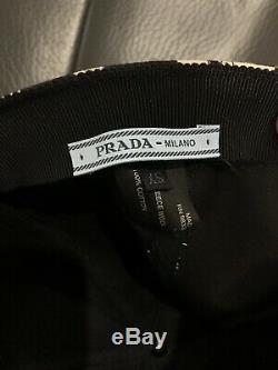 NEW Prada Leopard Tie Dye Stylish Logo Baseball Hat Cap Size Extra small XS