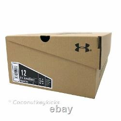 NEW Size 12 Mens Under Armour UA Project Rock 1 Training Shoes Black 3020788-001