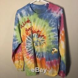 6e89971e5af3 New Travis Scott Astroworld Wish You Were Here Tour Merch Tie Dye Ls T-shirt  L