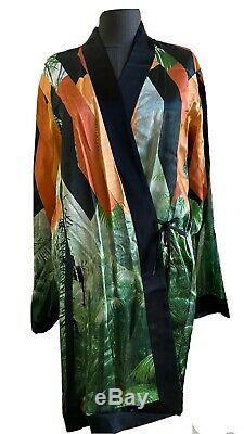 NWOT DRIES VAN NOTEN Viscose Printed Wrap Dress, Size Large