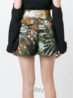 NWT $1,800 VALENTINO Tie Dye Stretch Cotton Shorts 2