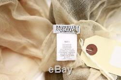 NWT $1745 Brunello Cucinelli 100% Cashmere Floral Tie-Dye Lightweight Scarf A181