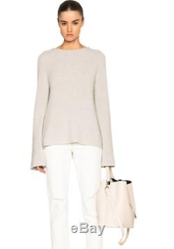 NWT $415 HELMUT LANG Tie Back Sweater Size L
