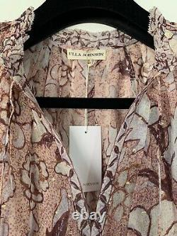 NWT Authentic Ulla Johnson Alexi Blouse Top In Blush Size 2 US $375
