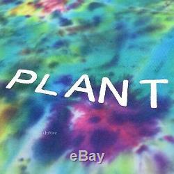 NWT Cactus Plant Flea Market Dark Tie Dye Smiley Logo LS T-Shirt SS19 AUTHENTIC