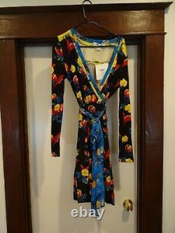 NWT Diane Von Furstenberg DVF Wrap Dress Sz 14