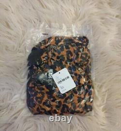 NWT Free People x Beach Riot Mia Double Tie Leopard One Piece Swimsuit Sz XS