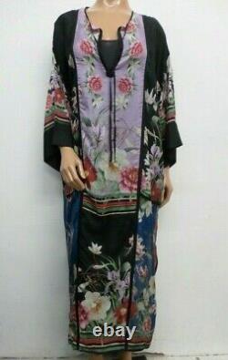 NWT Johnny Was Silk Garden Kimono Dress S / M OL41030321