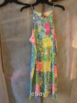 NWT Lilly Pulitzer Margot Dress Multi Cheek To Cheek XL Free Shipping