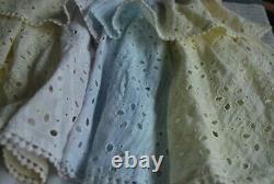 NWT LoveShackFancy X REVOLVE Carlisle Mini Dress Multi Tie Dye Eyelet XS $325