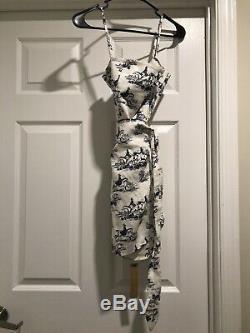 NWT Reformation Marseilles Dress Linen Size 4