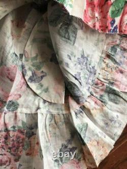 NWT Zimmermann Women's Allia Tie Linen Short Dress with pocket Size 1