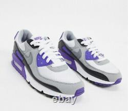 New Air Max 90 Hyper Purple Black Grey Women's Size 6.5 Sneakers CD0490-103