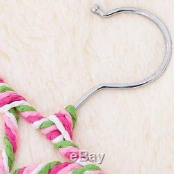 New Hanger with 28 Ring Slots Design Scarf Belt Tie Closet Organizer Holder Hook