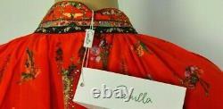 New NWT 2020 $700 Camilla Franks Cinema Paradiso Kaftan Gown Wrap Dress 1 SMALL