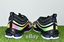 New Nike Men's Air Max 97 Size 14 Tie-Dye Black Multi-Color CK0841-001