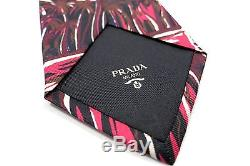 New With Tags NIB Classic 100% Silk PRADA Mens Tie