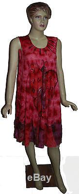 New style rayon tie dye wholesale 25 dresses indiantrend