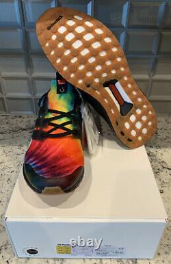 Nice Kicks x Adidas Ultra Boost'Woodstock' Black Tie-Dye Size 13 2-Day Ship