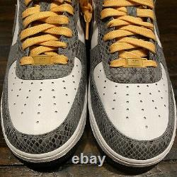 Nike Air Force 1 Low iD SZ 10 By You Snakeskin Jordan Union Chicago CT3761-991