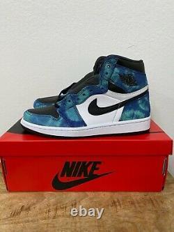 Nike Air Jordan 1 High Retro OG Tie Dye Size 9.5 W / 8M NEW 100% Authentic