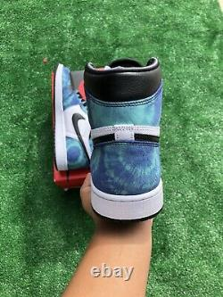 Nike Air Jordan 1 High Retro Og Tie Dye CD0461-100 Size 10.5With9M