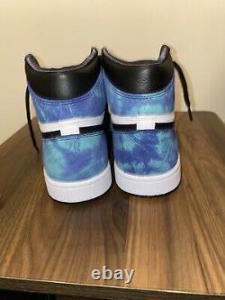 Nike Air Jordan 1 High Retro og Tie Dye Size 9.5 W / 8W